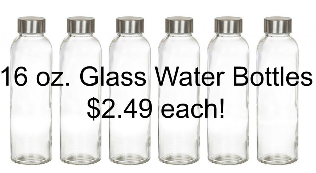 amazon glass water bottles
