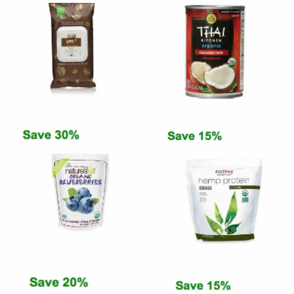 amazon  natural and organic coupons