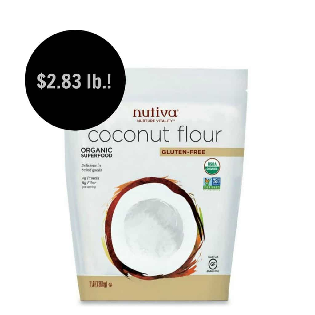 amazon organic coconut flour deal