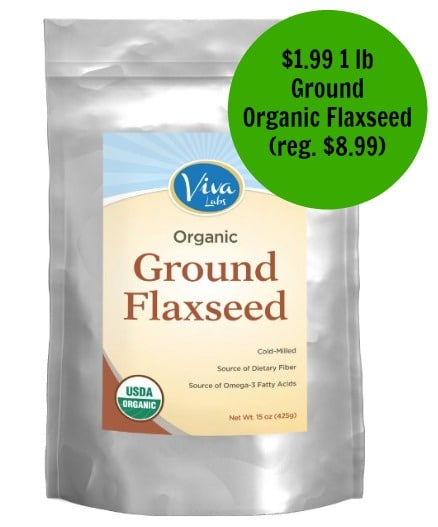 amazon organic flaxseed