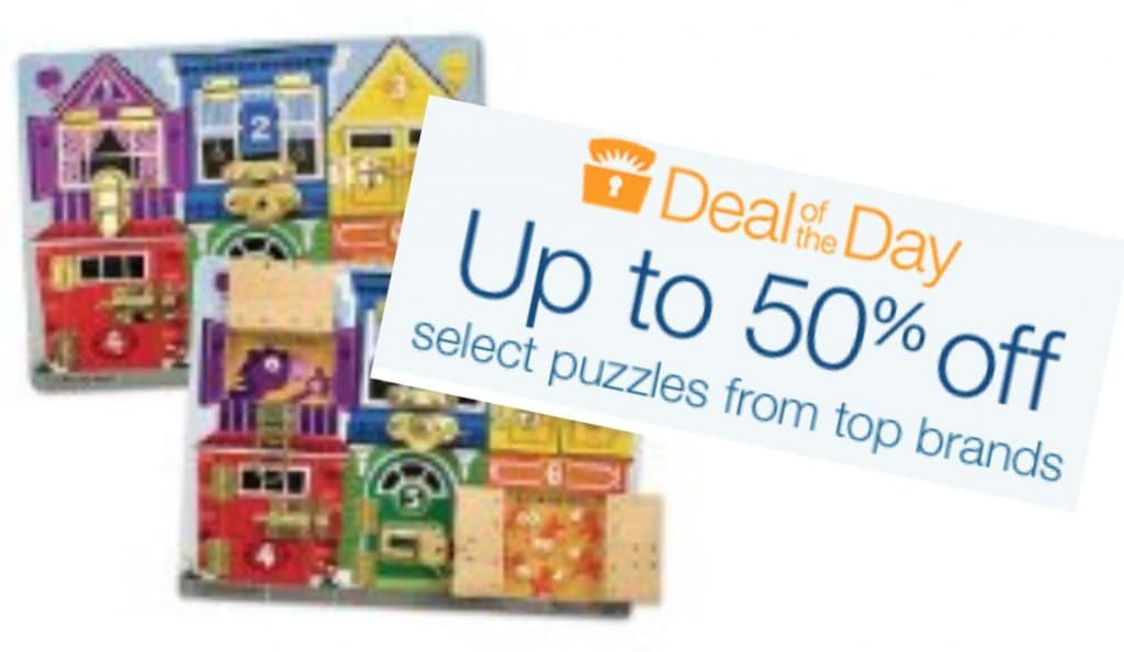 amazon sale puzzles melissa and doug