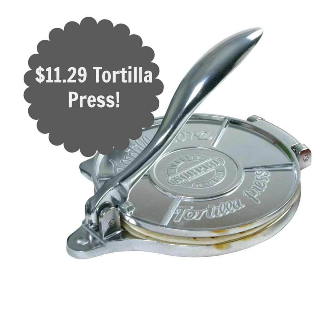amazon tortilla press