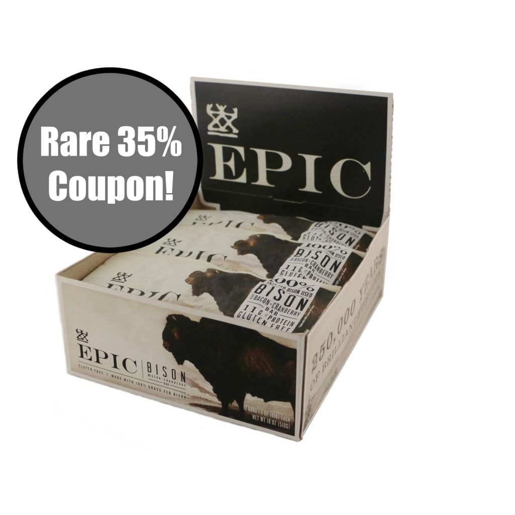 epic bar coupon