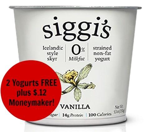 free siggi's yogurt target