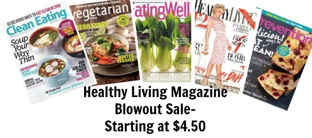 magazine sale organic
