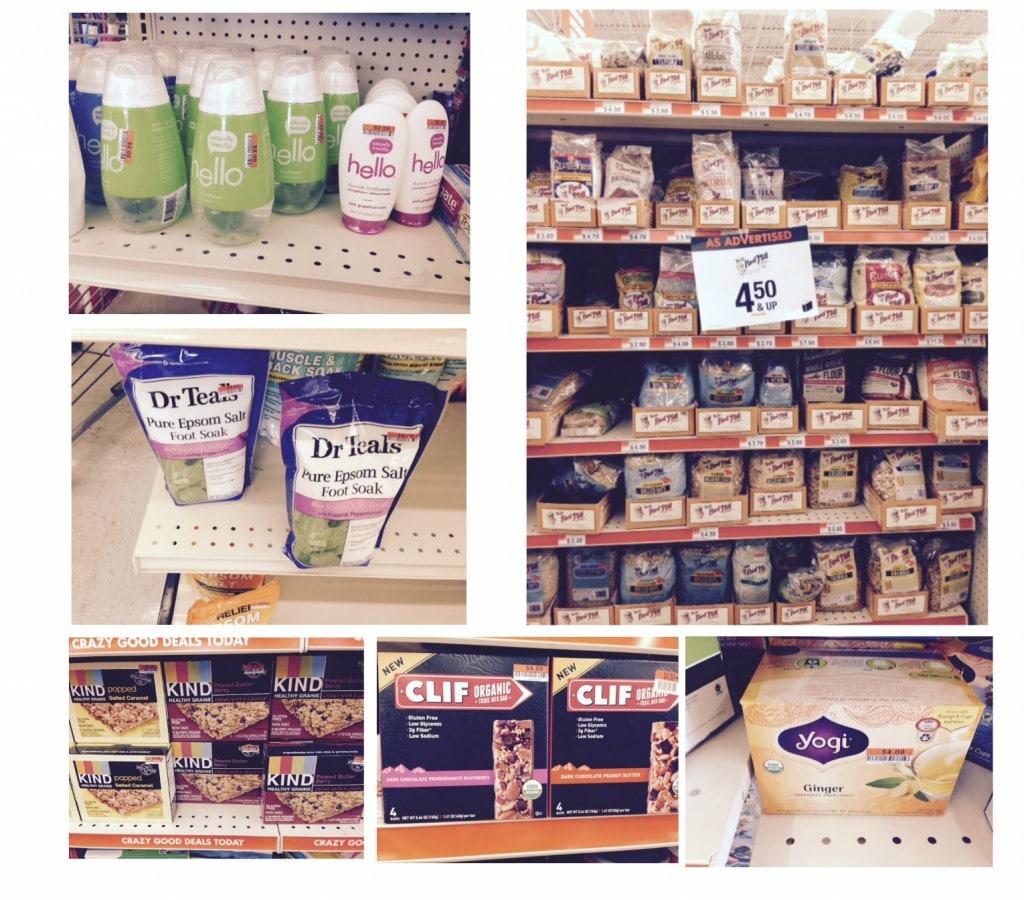 organic products at big lots