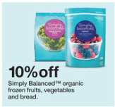 simply balanced organic fruit and vegetables target