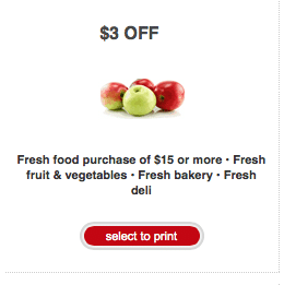 organic produce coupon targett