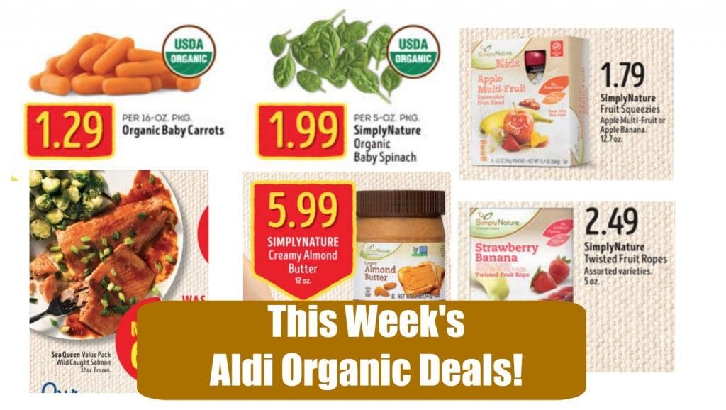 aldi's ad organic deals