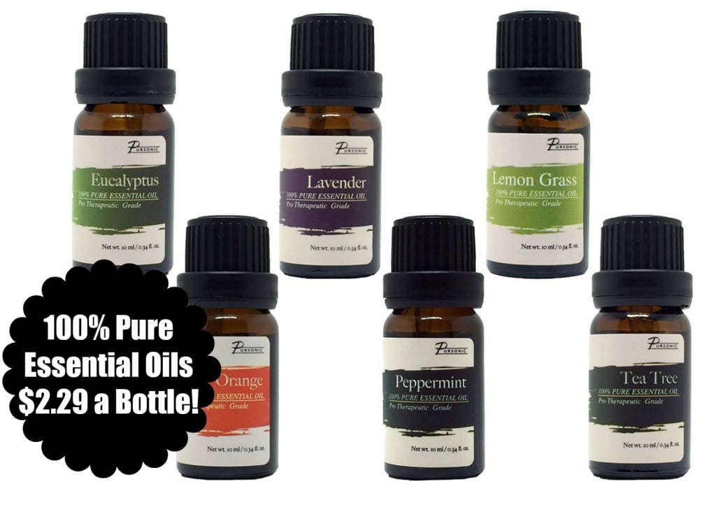amazon pure essential oils deal