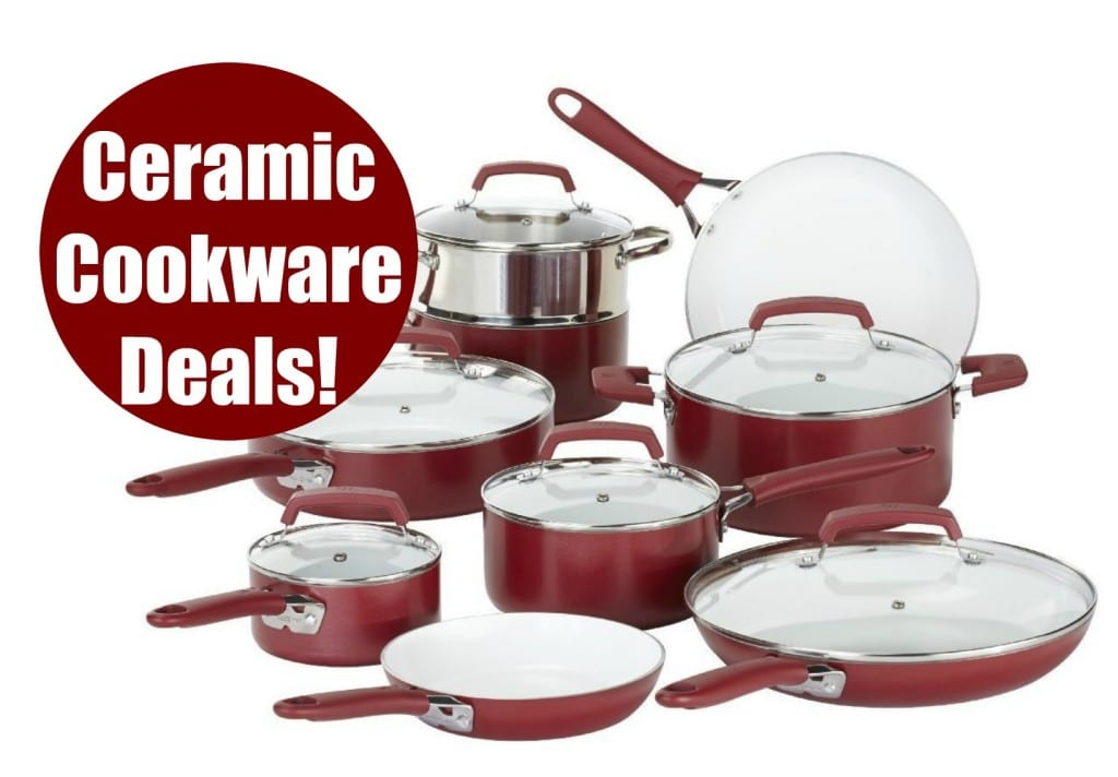 ceramic cookware deals amazon