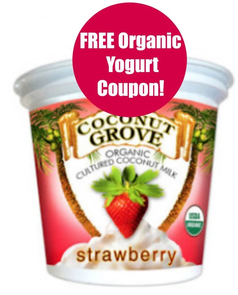 free cup organic yogurt coupon