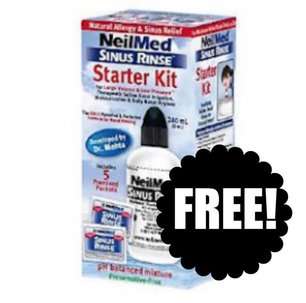 free neil med sinus rinse
