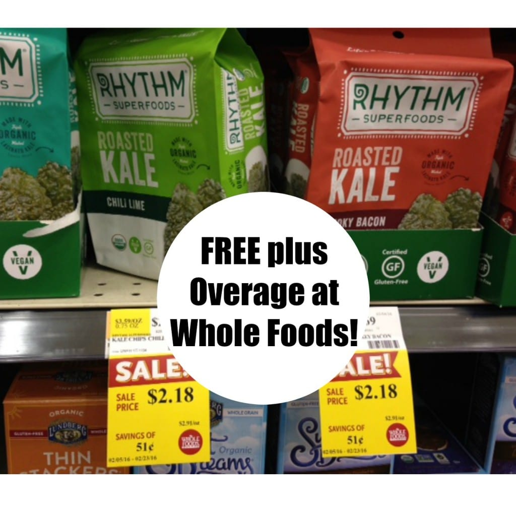 free rhythm kale chips whole foods coupon