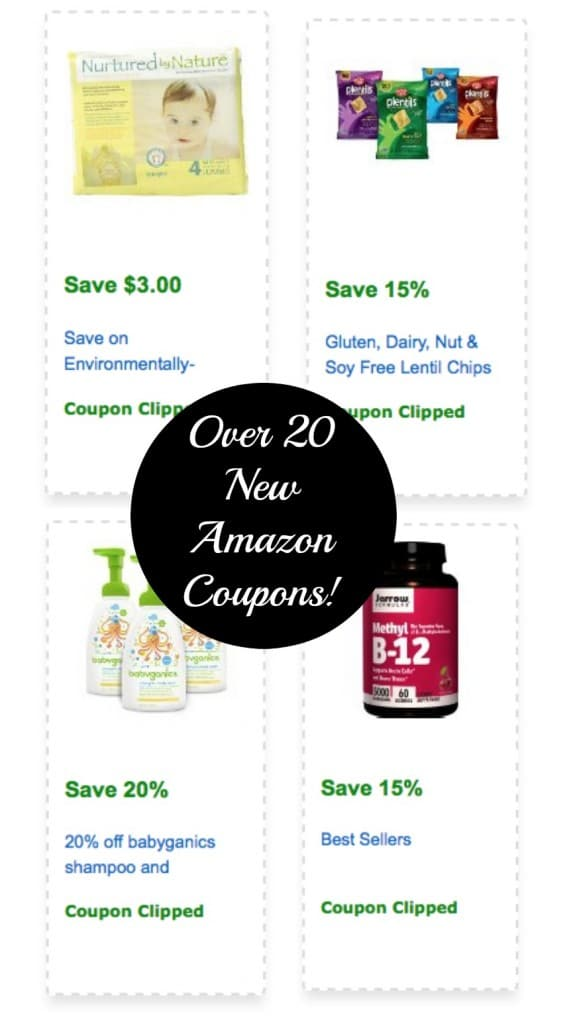 new amazon natural and organic coupons
