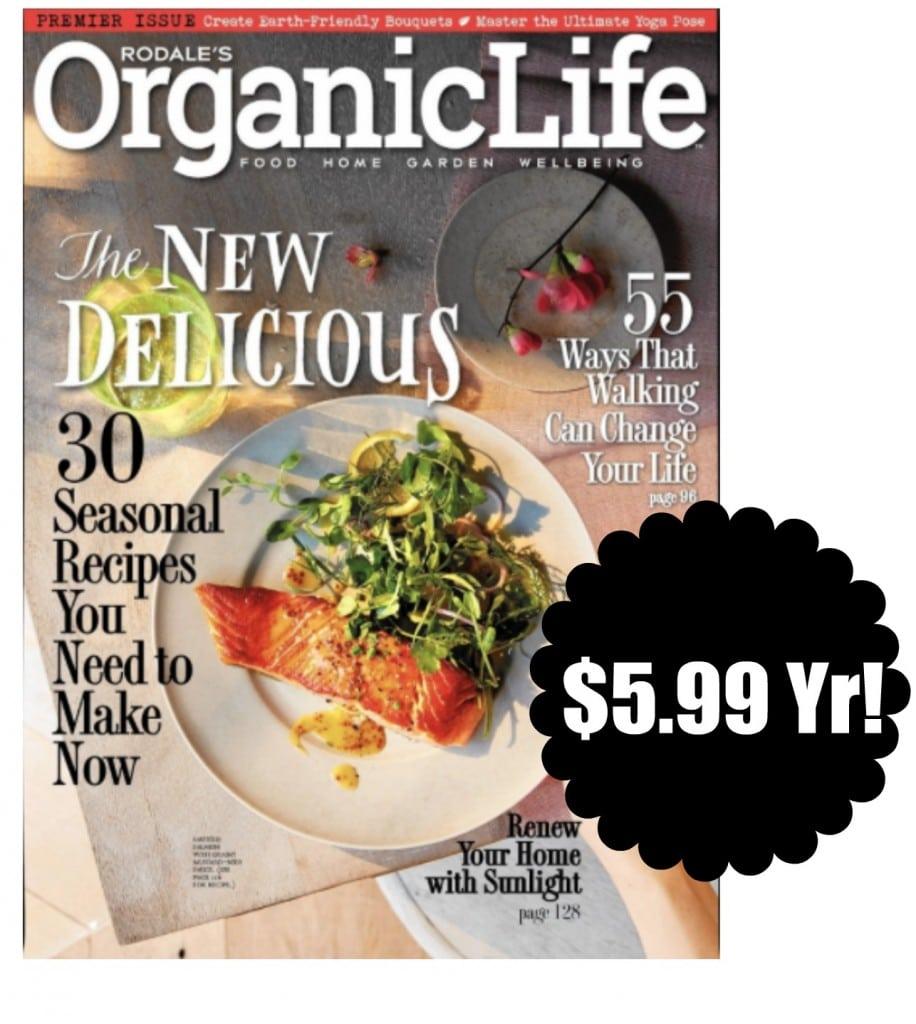 organic life magazine deal