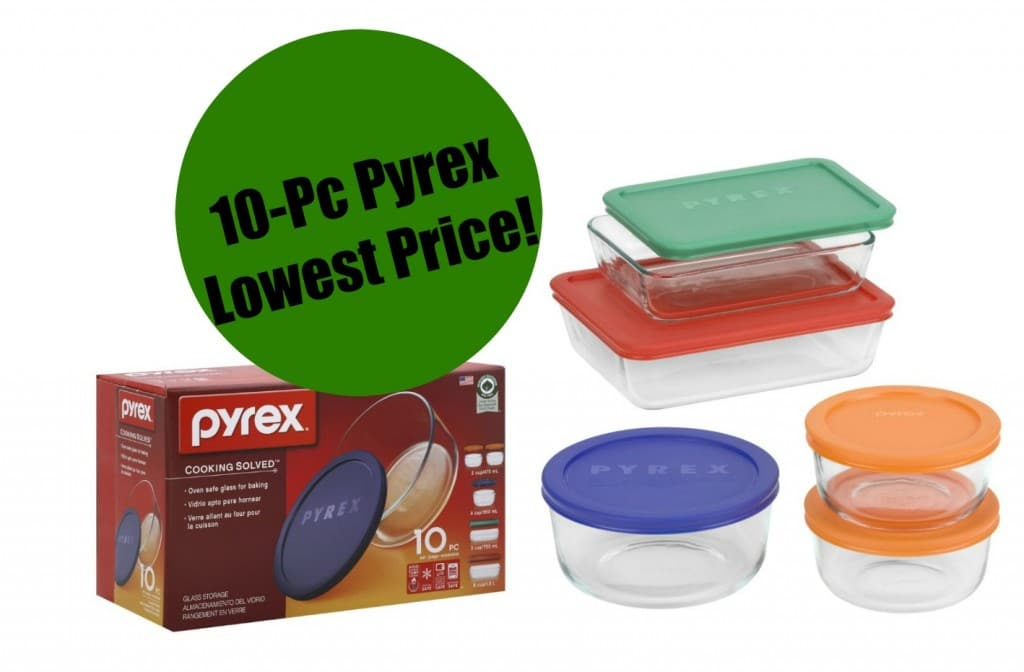 pyrex set amazon lowest price