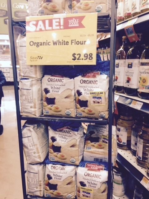 whole foods organic flour