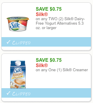 silk dairy free coupons