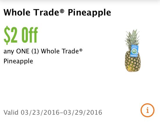 pineapple coupon