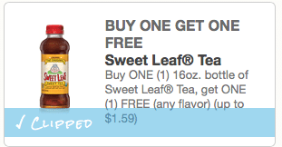 bogo sweetleaf coupon