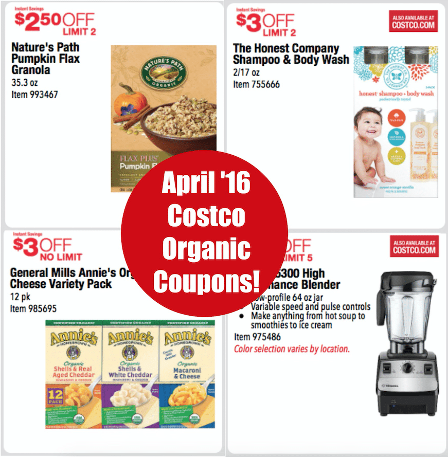 costco organic coupons april 2016