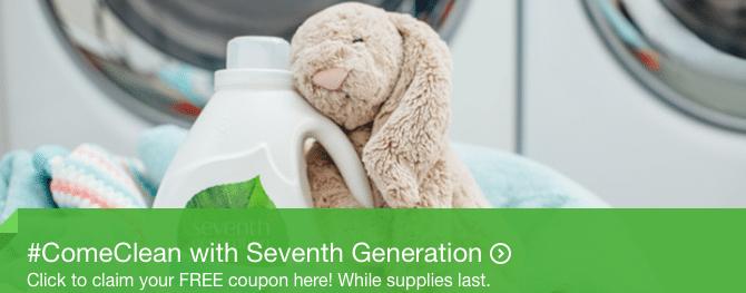 free seventh generation laundry detergent
