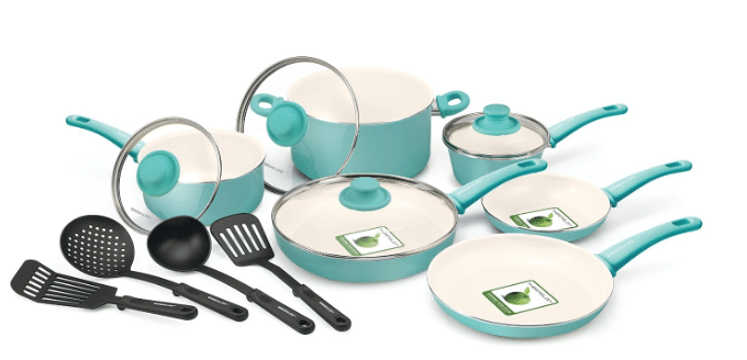 amazon green life non-stick cookware non-toxic