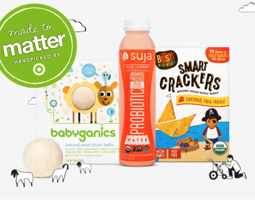 target made to matter coupons and deals