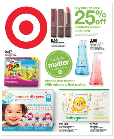 target made to matter sale