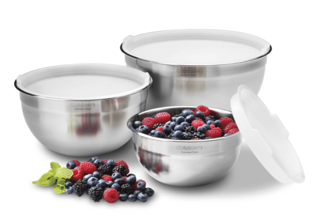 stainless steel bowls amazon cuisinart