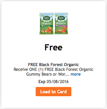 kroger free organic black forest gummy bears coupon