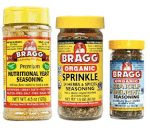 free bragg's samples
