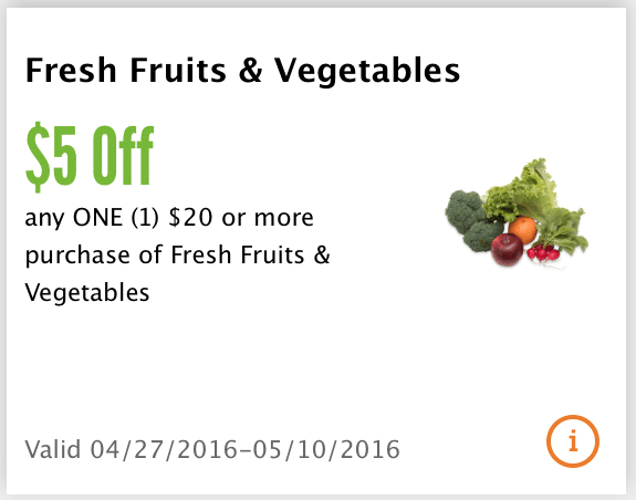 whole foods app coupons produce
