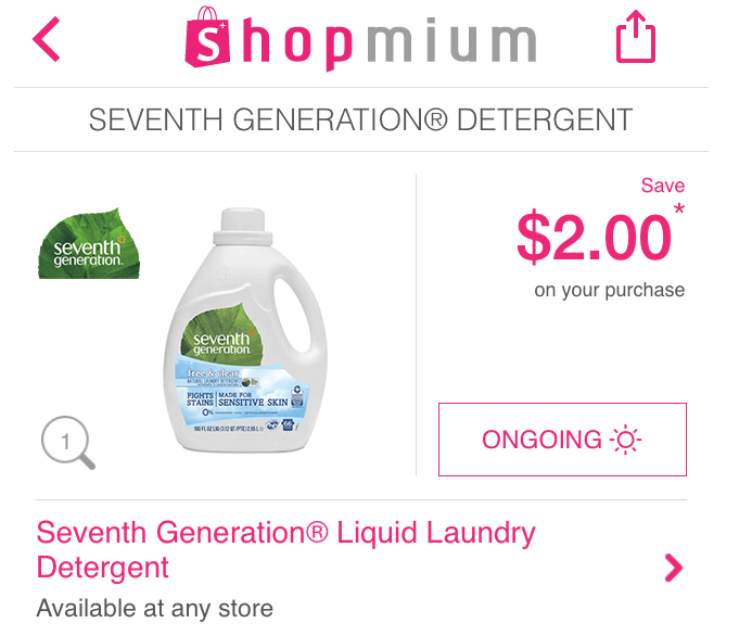 shopmium seventh generation
