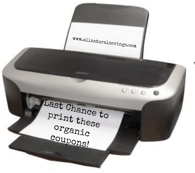 printable organic coupons end of the month
