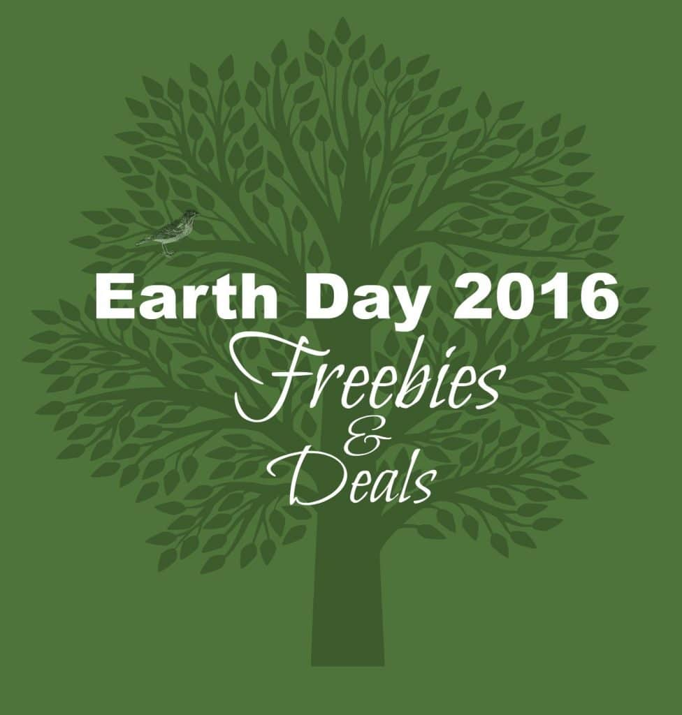 earth day 2016 freebies and deals