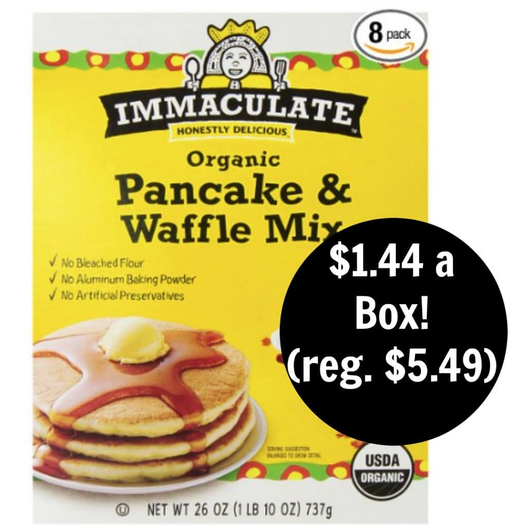 immaculate baking amazon deal