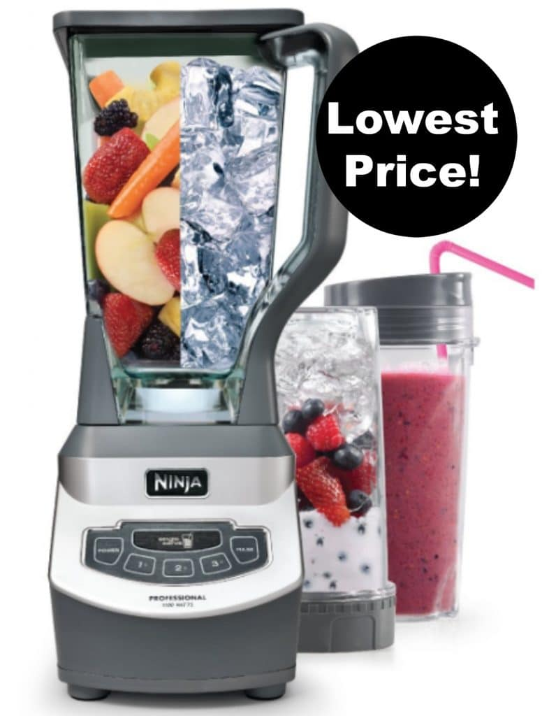 ninja professional blender amazon lowest price