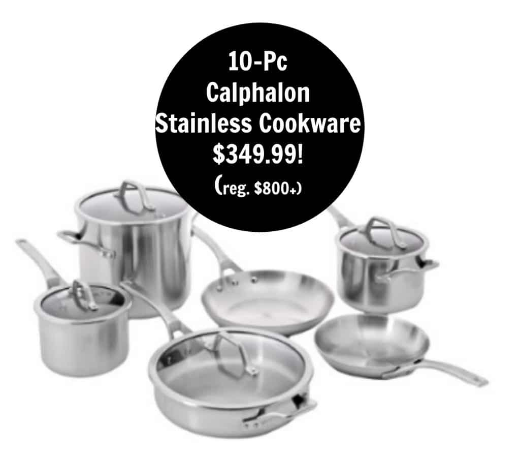 stainless steel amazon deal of the day cookware