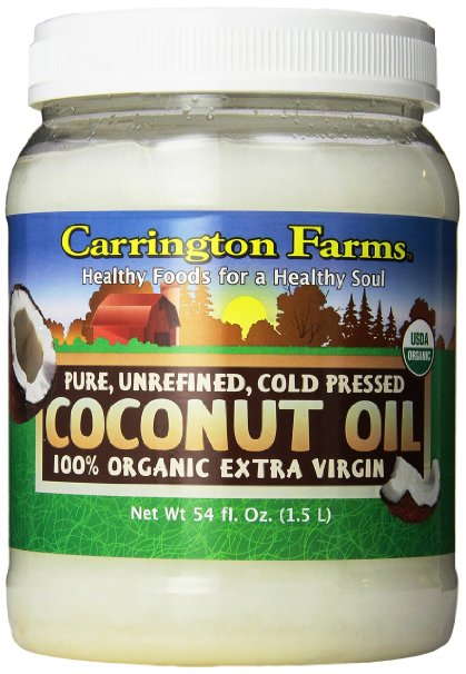 carrington farms organic extra virgin coconut oil lowest price amazon
