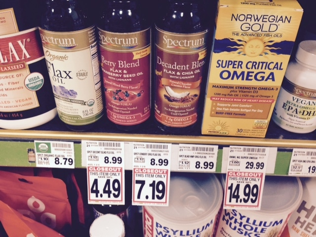 spectrum flax oil kroger deal