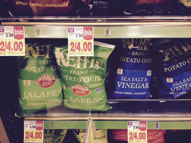 kettle brand chips sale at kroger coupon