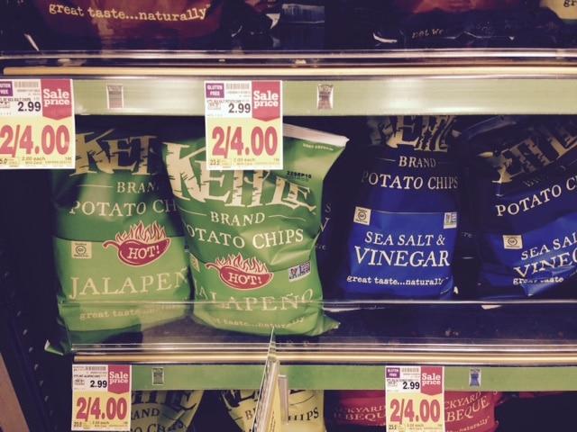 kettle brand chips sale at kroger coupon