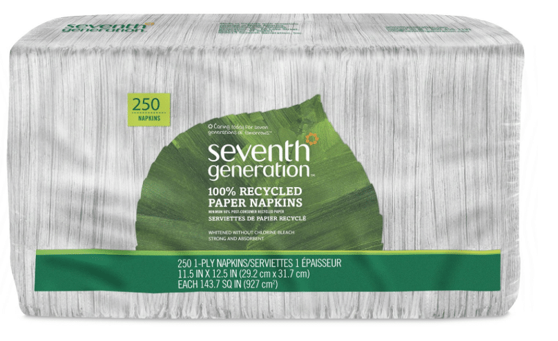 amazon seventh generation chlorine free napkins