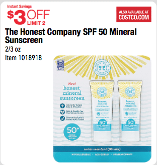 the honest company coupon costco