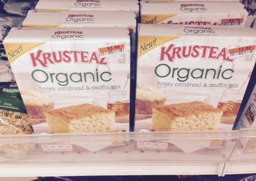 krusteaz organic big lots