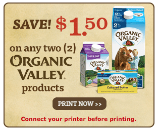 organic valley organic dairy coupon
