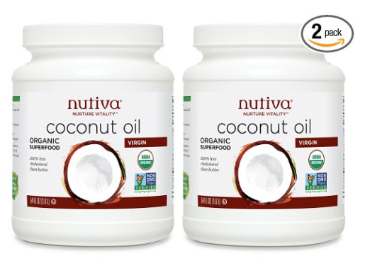 Nutiva Organic Virgin Coconut.