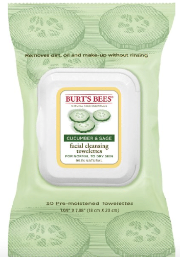 burt's bees facial towelettes amazon